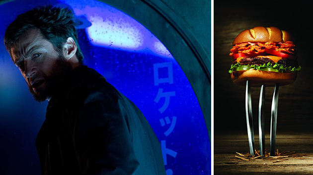 The Wolverine ... and his very own burger (Photo: 20th Century Fox/ Red Robin)