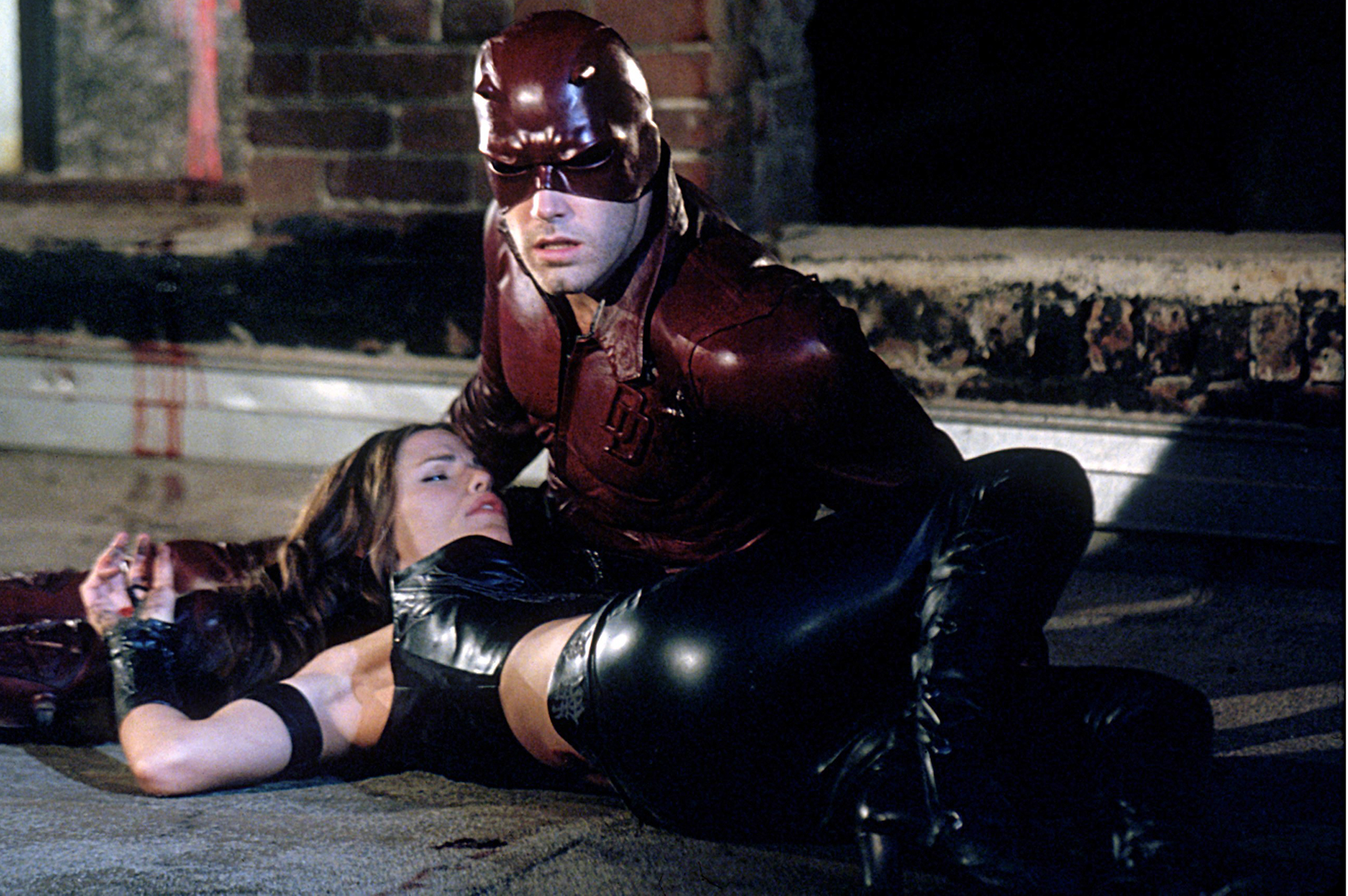 Ben Affleck, seen here in 'Daredevil,' is set to wear that other superhero mask (Photo: Everett)