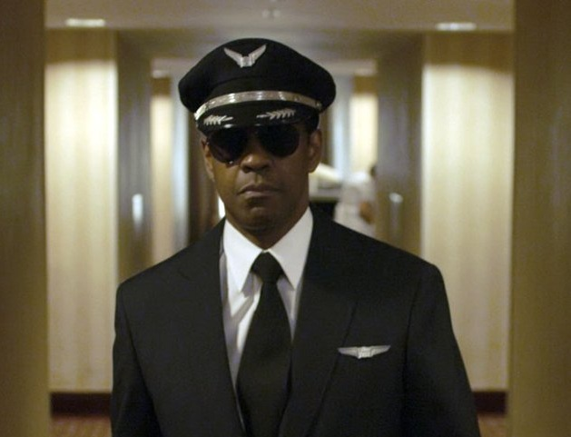 Denzel Washington in 'Flight'. Photo by Paramount Pictures.