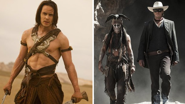 'John Carter' and 'The Lone Ranger' get dubious Disney distinctions (Photo: Walt Disney Company)