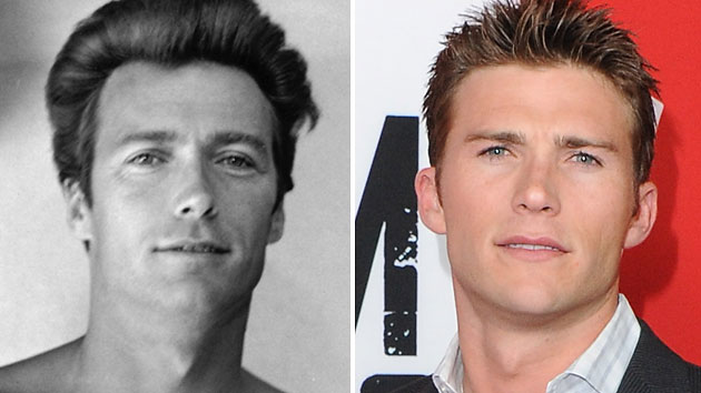 Scott Eastwood, right, and his famous dad Clint Eastwood (Photo: Getty Images/FilmMagic)