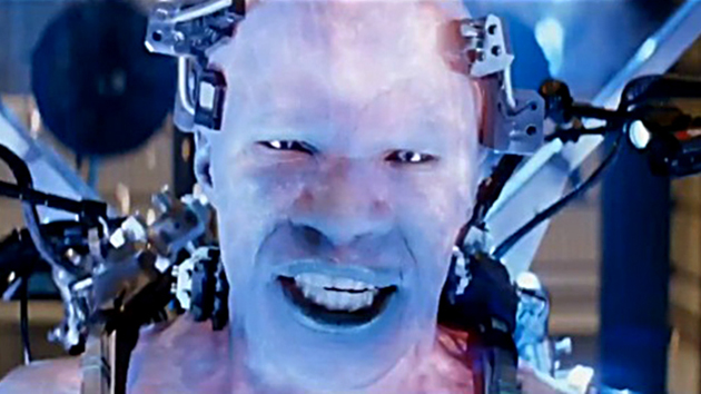 Jamie Foxx as Electro in first teaser trailer (screengrab from Sony Pictures)