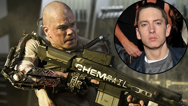 Eminem was first choice for 'Elysium' lead role, director admits (Photo: TriStar/Inset- Getty)