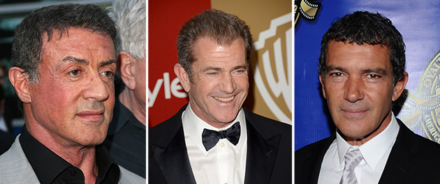 How much more 'Expendables' casting news can we handle, Sly!? (Photo: David Livingston/Jason Merritt/Angela Weiss/Getty)
