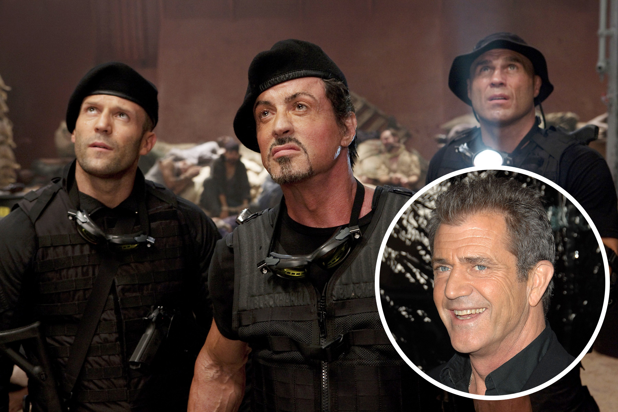 Mel Gibson Revealed as Expendables Co-Founder as 'The Expendables 3' Begins Production