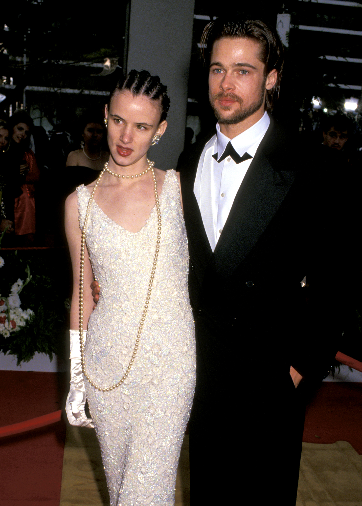 Lewis and Pitt at the 1992 Oscars (Photo: Jim Smeal/WireImage)