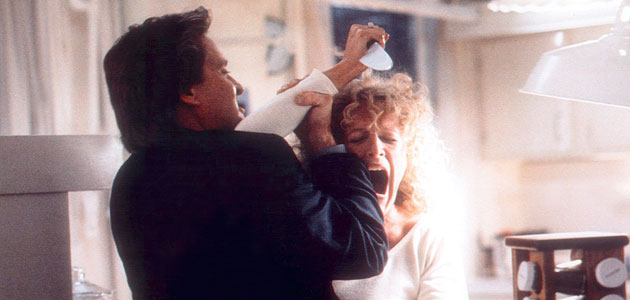 Michael Douglas and Glenn Close in 'Fatal Attraction' (Photo: Paramount Pictures/Everett Collection)