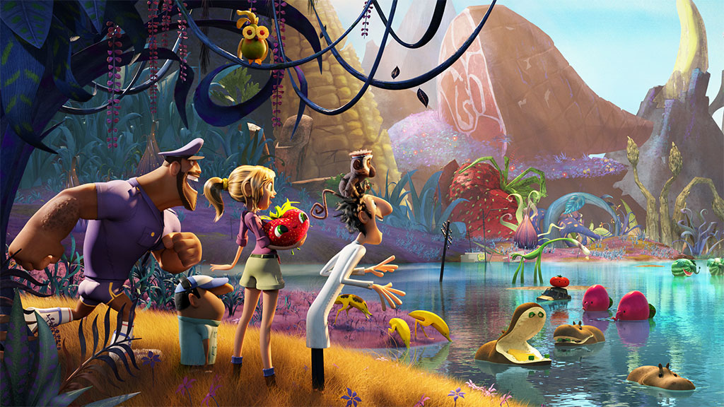 'Cloudy With a Chance of Meatballs 2' (Photo: Columbia Pictures)