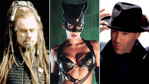 'Battlefield Earth,' 'Catwoman' and 'Hudson Hawk' (Photo: Everett Collection)