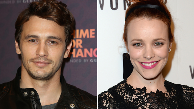 James Franco and Rachel McAdams have been cast in 'The Little Prince' (Photo: Getty)