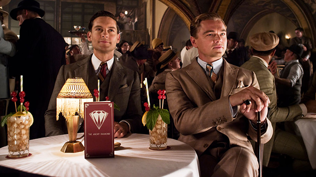 Leonardo DiCaprio and Tobey Maguire in 'The Great Gatsby' (Warner Bros.)