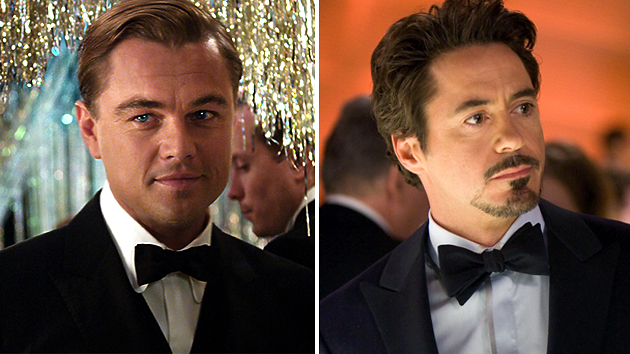 Gatsby is battling Stark at the box office and at life (Photo: Warner Bros./Paramount Pictures)