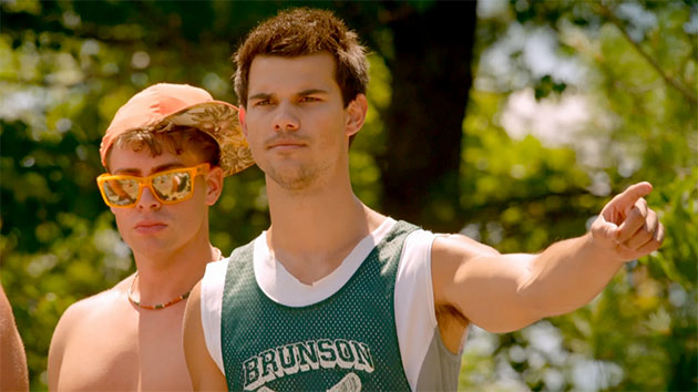 Taylor Lautner, mean guy in 'Grown Ups 2' (Photo: Columbia Pictures)