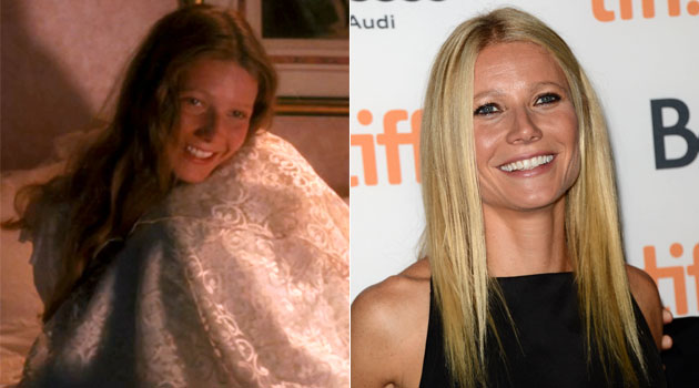 18-year-old Paltrow in 'Hook,' left, and Paltrow now (Photo: TriStar Pictures, Jason Merritt/Getty Images)