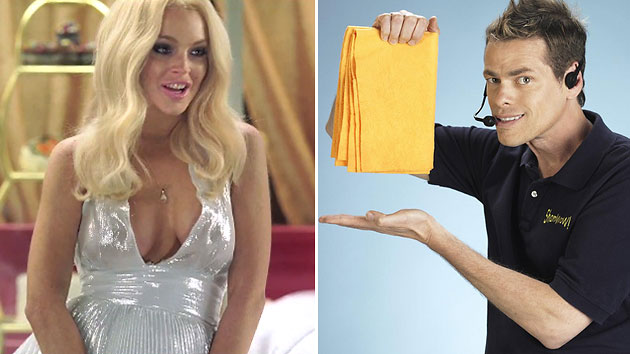 Lindsay Lohan channels Marilyn Monroe in Vince Offer's film 'InAPPropriate Comedy' (Freestyle Releasing)