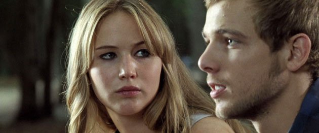 Jennifer Lawrence and Max Thieriot in 'House at the End of the Street' (Photo: Relativity Media)