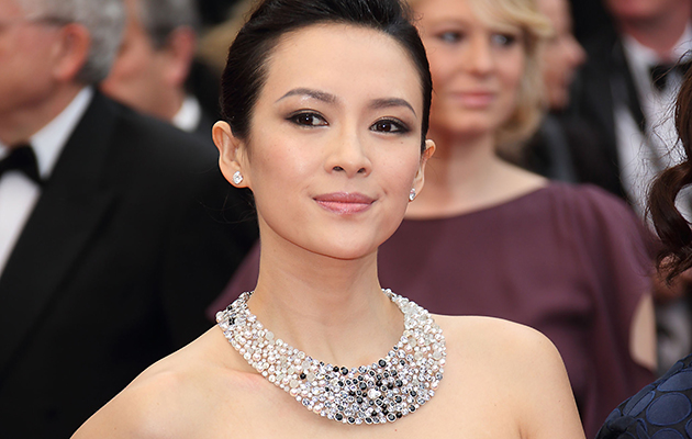 Actress Zhang Ziyi sporting some bling at Cannes ((Photo by Mike Marsland/WireImage)