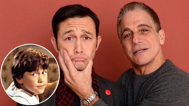 Joseph Gordon-Levitt (also inset) and Tony Danza at this year's Sundance Film Festival (Photo: Everett/Getty)