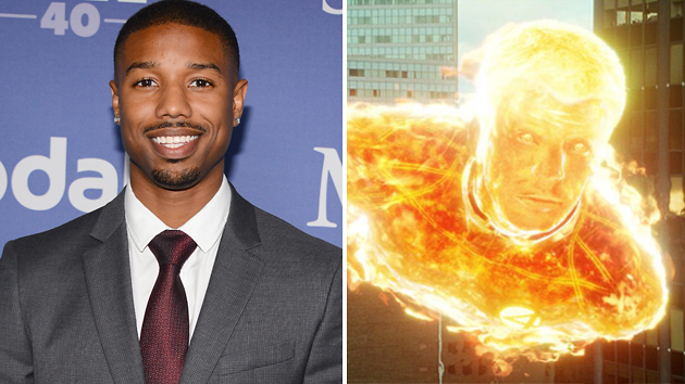 Michael B. Jordan, the new Human Torch? (Photo: Getty Images/20th Century Fox)
