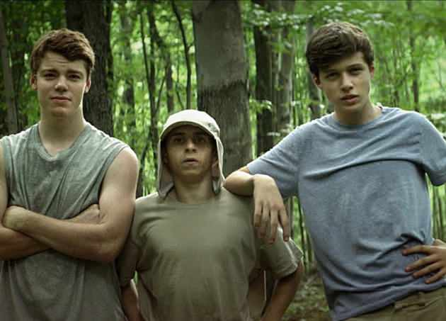 Gabriel Basso, Moises Arias & Nick Robinson in CBS Films' 'The Kings of Summer'.