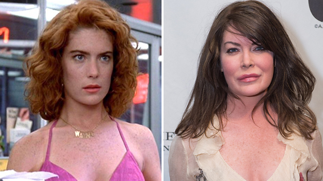 My, has Lara Flynn Boyle changed since she played Stacy in 'Wayne's World.' (Photo: Paramount/A.M.P.A.S.)