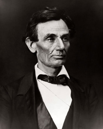 Abraham Lincoln, clean-shaven (Photo: Superstock/Everett Collection)