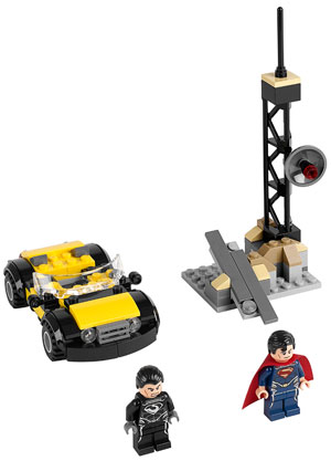 'Man of Steel' playset (Click to view full size)