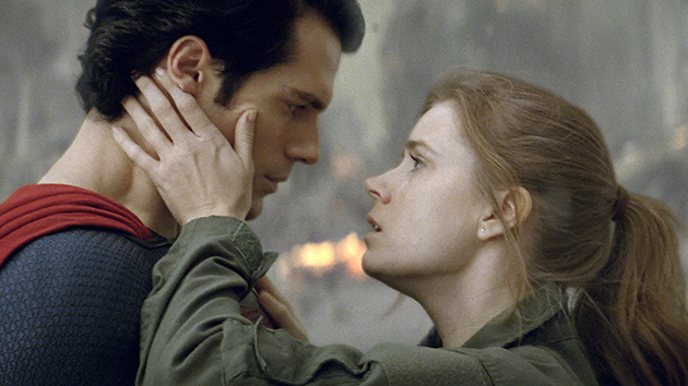 Henry Cavill and Amy Adams in 'Man of Steel' (Photo: Warner Bros. Pictures)