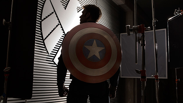 Chris Evans in 'Captain America: The Winter Solder' (Photo: Walt Disney)