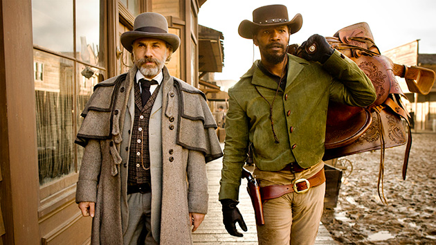 Christoph Waltz and Jamie Foxx in 'Django Unchained' (Photo: The Weinstein Company)