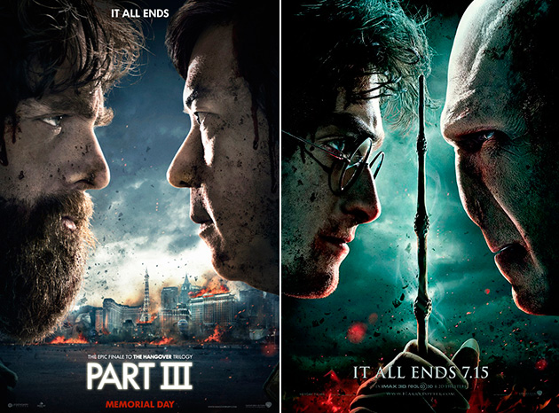 The Hangover Part II / Harry Potter and the Deathly Hallows - Part 2 (Photo: Warner Bros.)