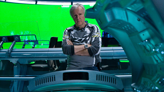 James Cameron on the set of 'Avatar' (Photo: Mark Fellman/20th Century Fox)