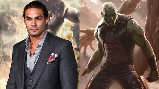 Jason Momoa to star in 'Guardians of the Galaxy' (Photo: Chelsea Lauren/WireImage, Marvel Studios)