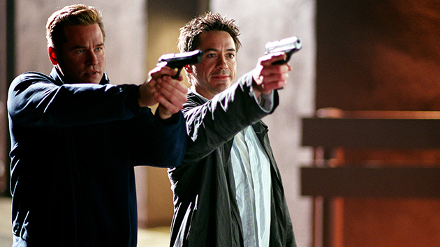 Val Kilmer and Robert Downey Jr. in 'Kiss Kiss, Bang Bang' (Photo: Warner Bros. Pictures)
