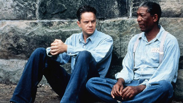 Tim Robbins and Morgan Freeman in 'The Shawshank Redemption' (Photo: Sony Pictures)