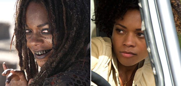Naomie Harris in 'Pirates' and 'Skyfall' (Photo: Walt Disney Pictures/Columbia Pictures)