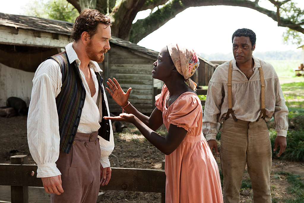 Michael Fassbender, Lupita Nyong'o as and Chiwetel Ejiofor in