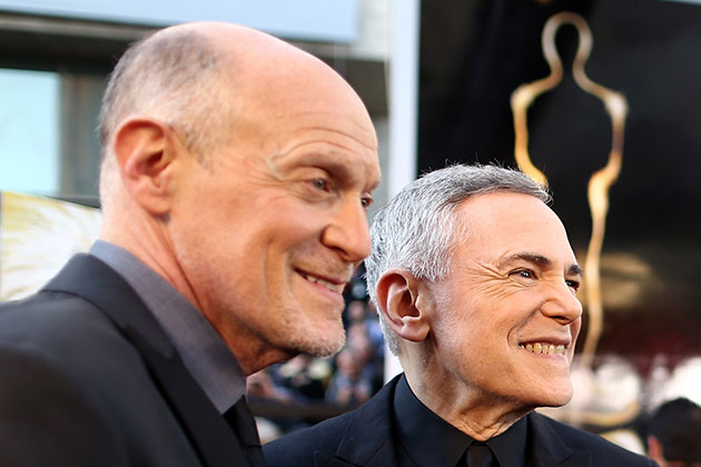 Oscars Producers Neil Meron (L) and Craig Zadan (Photo by Christopher Polk/Getty Images)