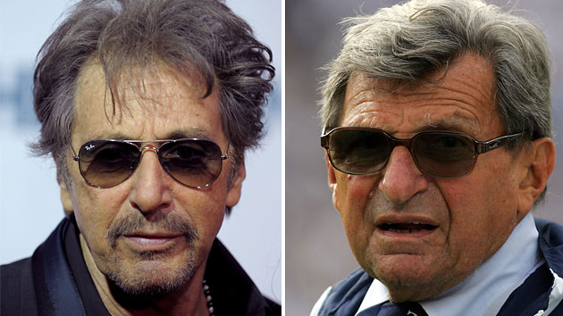 Al Pacino/Joe Paterno (Photo: Getty Images)