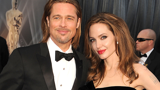 Angelina Jolie and Brad Pitt at the Oscars in 2012. They did not attend in 2013. (Steve Granitz/WireImage)