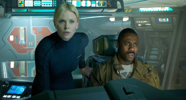 "Charlize Theron, left, and Idris Elba in ""Prometheus."" (Photo: Twentieth Century Fox)"