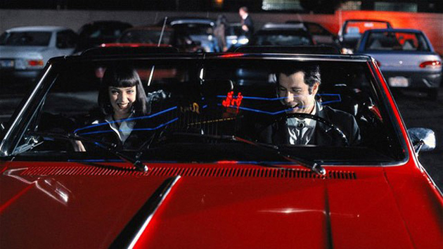 The '65 red Chevy in 'Pulp Fiction' (Photo: Miramax)