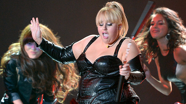 MTV Movie Awards host Rebel Wilson (Photo: Kevork Djansezian/Getty Images)