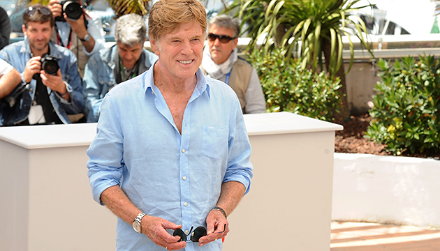 Robert Redford at the Cannes Film Festival on Wednesday (Photo: Dave J Hogan/Getty)