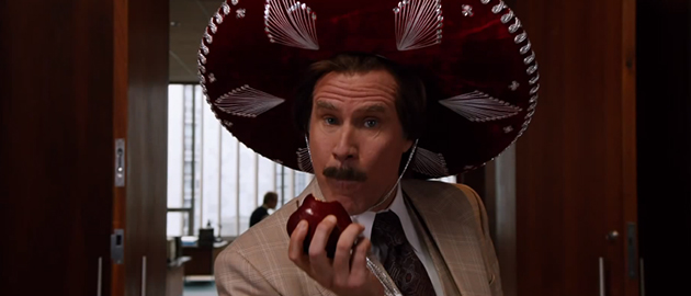 Ron Burgundy is taking his talents from the small screen to the written word. (Paramount Pictures)