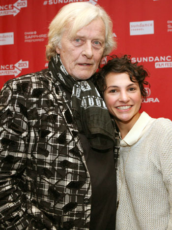 Rutger Hauer and Manuela Martelli (Photo: Kristin Murphy/Getty Images)
