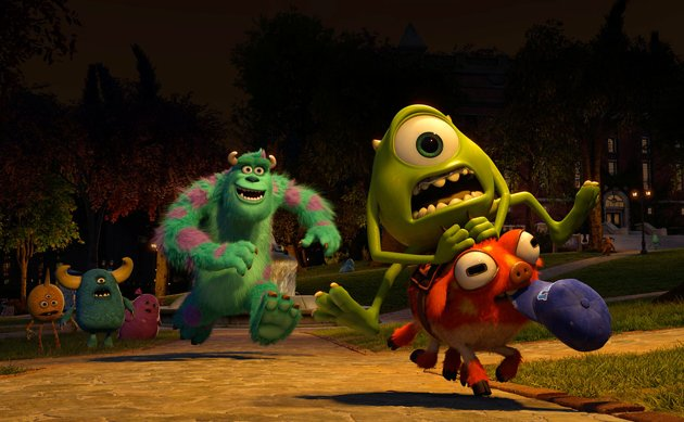 Sulley (John Goodman) & Mike (Billy Crystal) in Disney-Pixar's 'Monsters University'