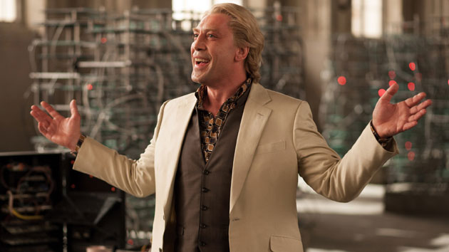 Javier Bardem as Raoul Silva in 'Skyfall' (Photo: Everett Collection/Columbia Pictures)