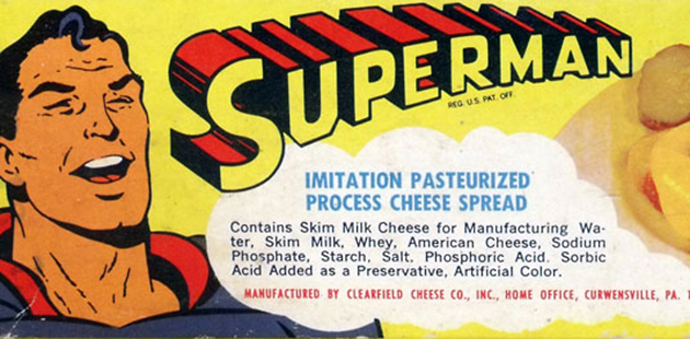 Supercheese? (Photo Courtesy of Collecting Superman)