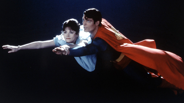 Margot Kidder and Christopher Reeve in 1978's
